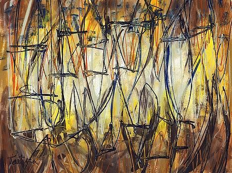 Contemporary Art Three by Lynne Taetzsch