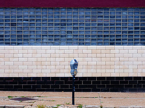 Contemporary Minimal Photography Print. Parking Meter. by Dylan Murphy