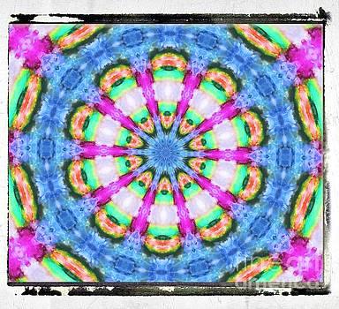 Cool Color Petals by Shirley Moravec