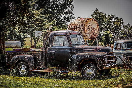 Cool Truck On A Hot Day by Ray Congrove