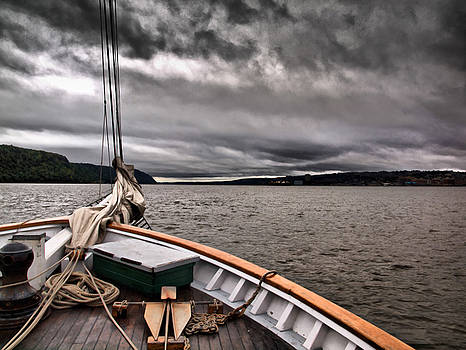 Cool Winds On the Hudson by Valerie Morrison