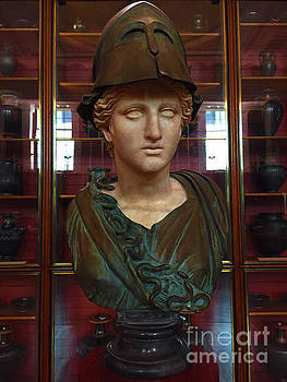 Copper Bust in Rome by Doc Braham