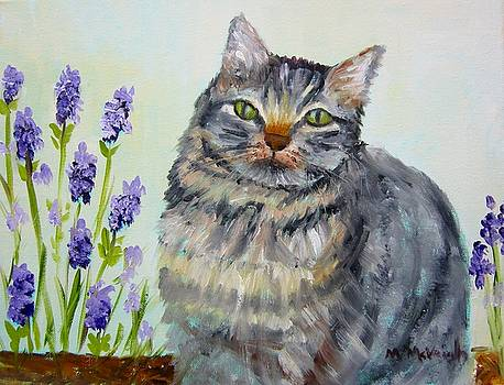 Copper Nose Kitty by Marita McVeigh