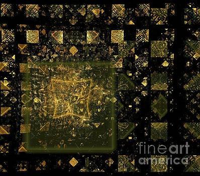 Copper Quilt by Kim Sy Ok