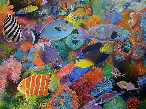 Coral Bliss by Patti Lane