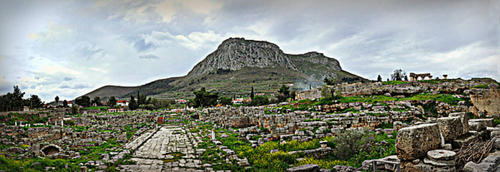 Corinth Where Paul Walked by Eric Liller