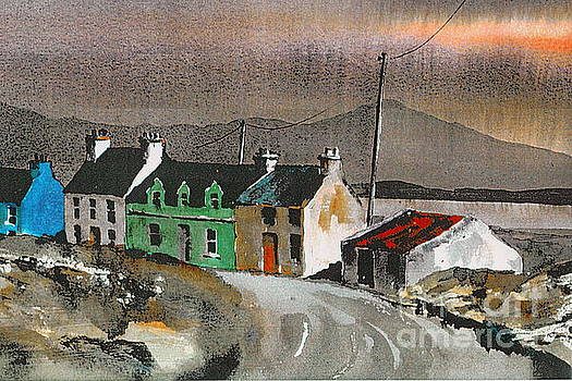 Cork ... Evening sunset on Eyeries by Val Byrne