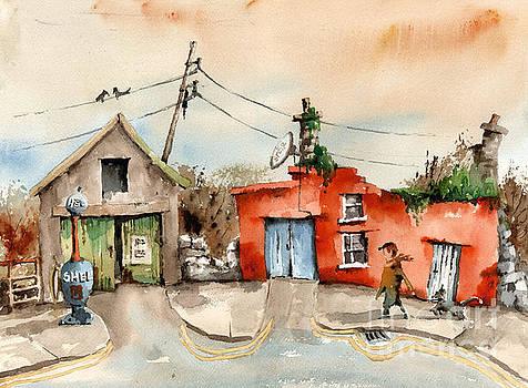 Cork.. Eyeries Shell Gasoline by Val Byrne