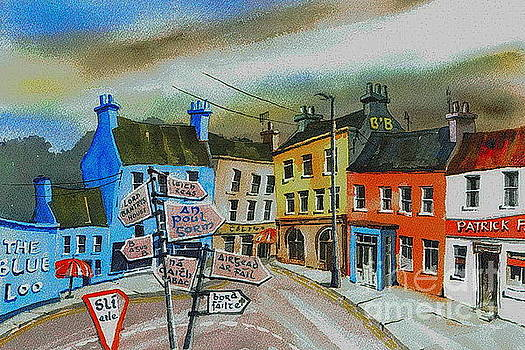 CORK... Glengarriff signposts by Val Byrne