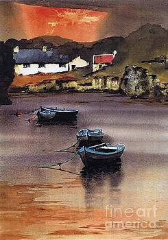 CORK.. Goleen Harbour by Val Byrne