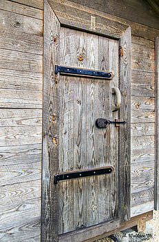 Corn Crib Door by Brian Wallace
