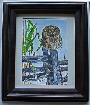 Corn Picking Time by Jack G Brauer