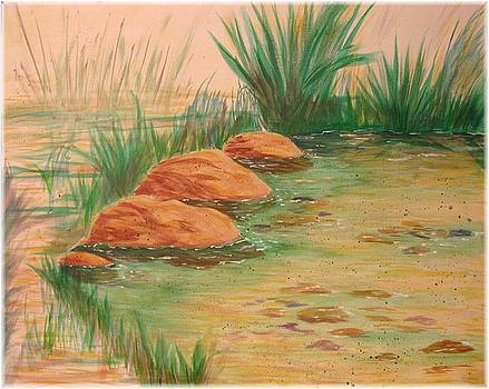 Corner of the Pond by Kenneth McGarity