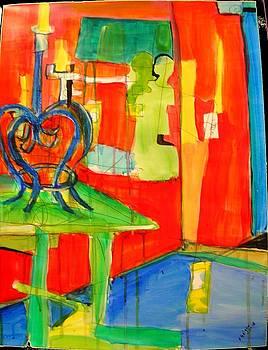 Corner Study by Karen Geiger
