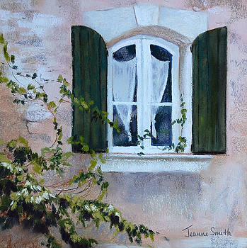 Corner Window by Jeanne Rosier Smith