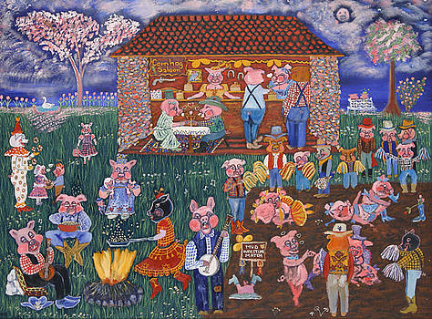 Cornhog Saloon by Carol Shumas