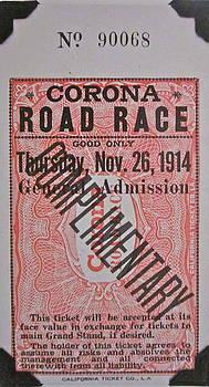 Gwyn Newcombe - Corona Road Race 1914
