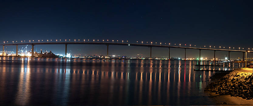 Coronado Bridge San Diego by Gandz Photography
