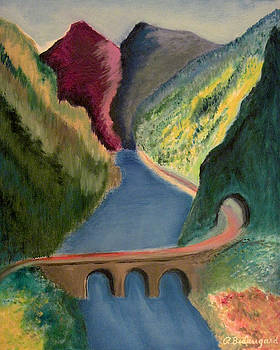 Corundum Peaks by Richard Beauregard