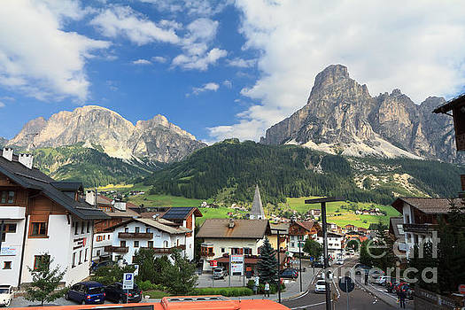 Corvara in Badia Valley by Antonio Scarpi