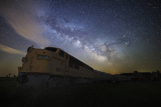 Cosmic Express by Aaron J Groen