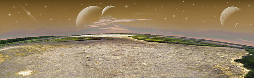Cosmic Fantasy - Pano by Brian Wallace