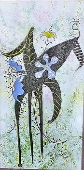 Cosmic Flora by Cindy Watson