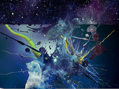 Cosmic Resonance No 1 by Robert G Kernodle