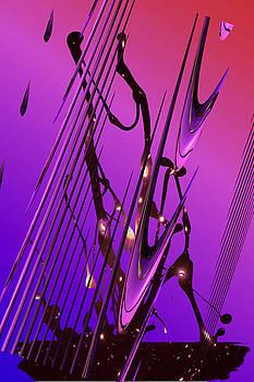Cosmic Resonance No 6 by Robert G Kernodle