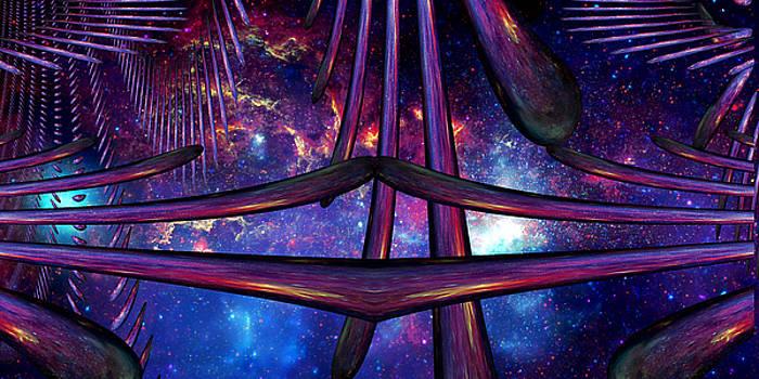 Cosmic Resonance No 7 by Robert G Kernodle