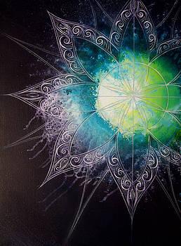 Cosmic Starburst by Reina Cottier