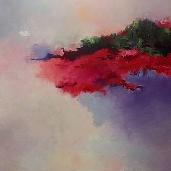 Cosmic sunset  by Carol Hopper