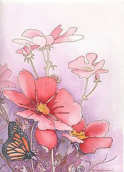 Cosmos and Monarch by Robynne Hardison
