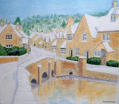 Cotswold Winter - Castle Combe by Peter Farrow