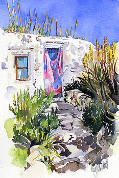 Cottage at San Pedro by Margaret Merry
