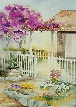 Cottage Garden by Maryann Schigur