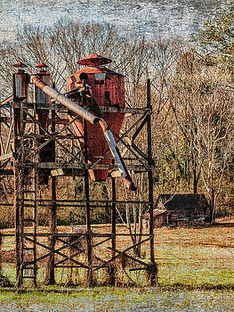 Cotton Gin In Vincent Alabama by Phillip Burrow