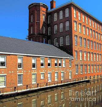 Cotton Mill by Raymond Earley