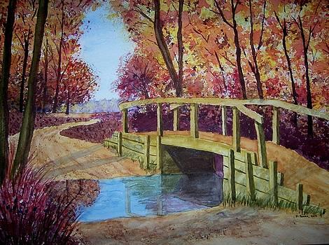 Country Bridge by B Kathleen Fannin