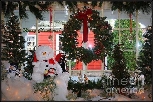 Country Christmas - Greeting by Dora Sofia Caputo Photographic Art and Design