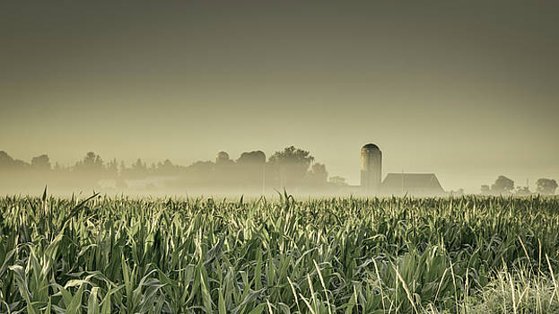Country farm landscape by Nick Mares