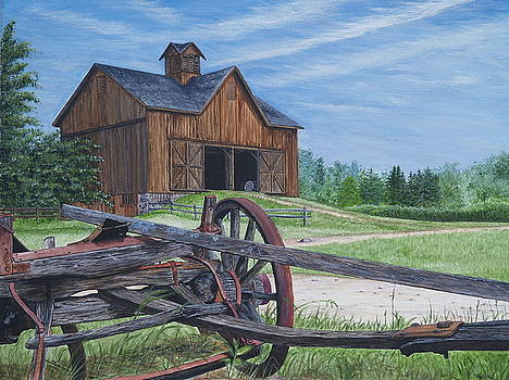 Country Farm by Vicky Path