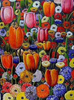 Country Garden by Sandra Sengstock-Miller