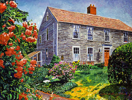Country House Cape Cod by David Lloyd Glover