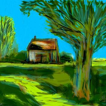 Country Landscape by Jim Vance