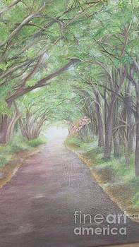 Country Road by Lucia Grilletto