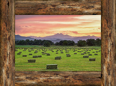 James BO Insogna -  County Barn Wood Window View