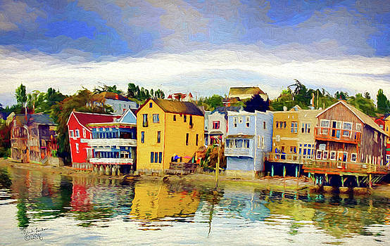 Coupeville in my Mind by Rick Lawler