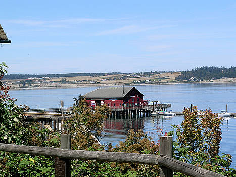 Coupeville Wharf II by Mary Gaines