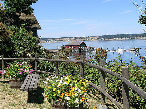 Coupeville Wharf by Mary Gaines